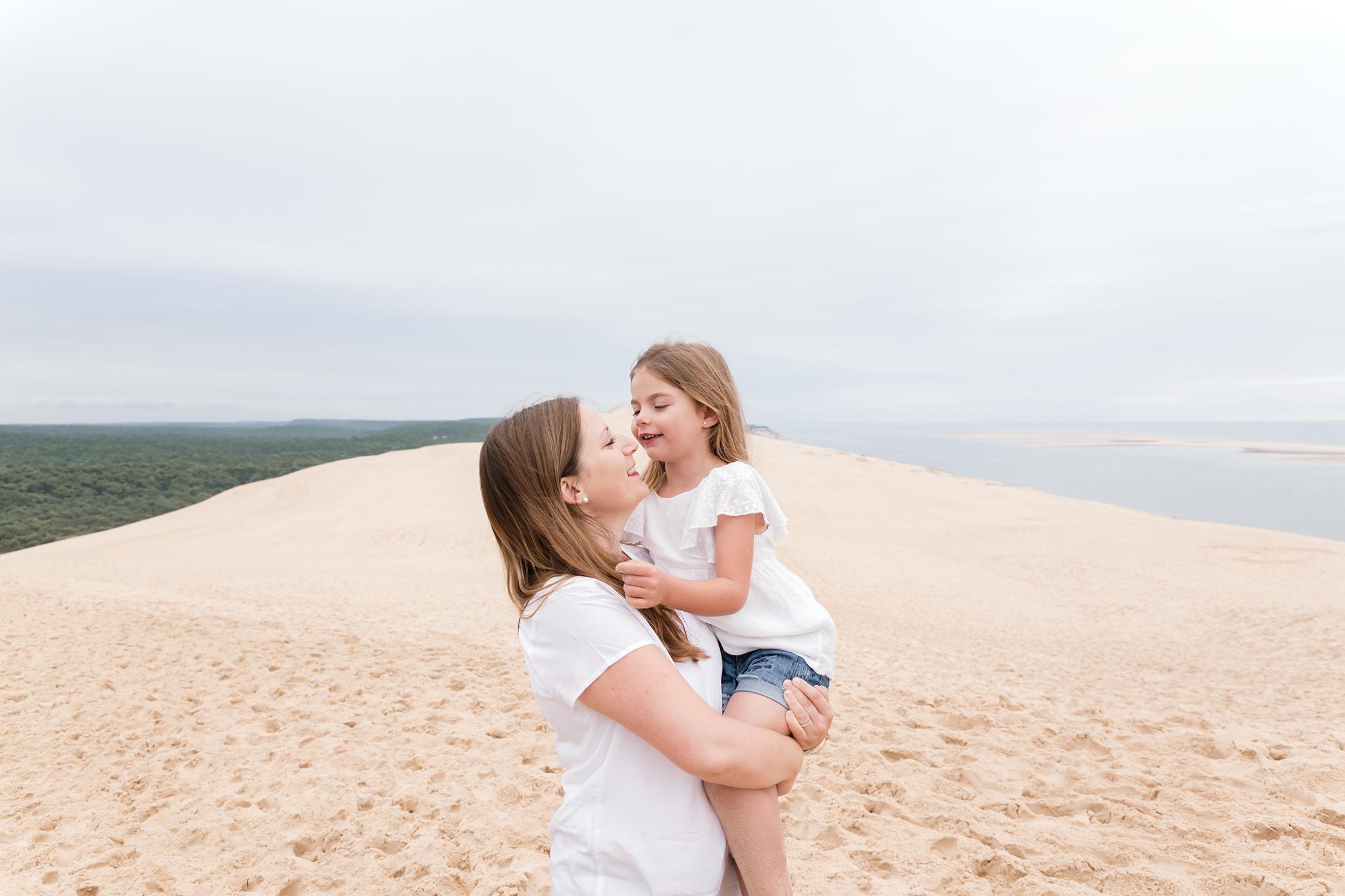 Séance Famille à la dune du Pilat