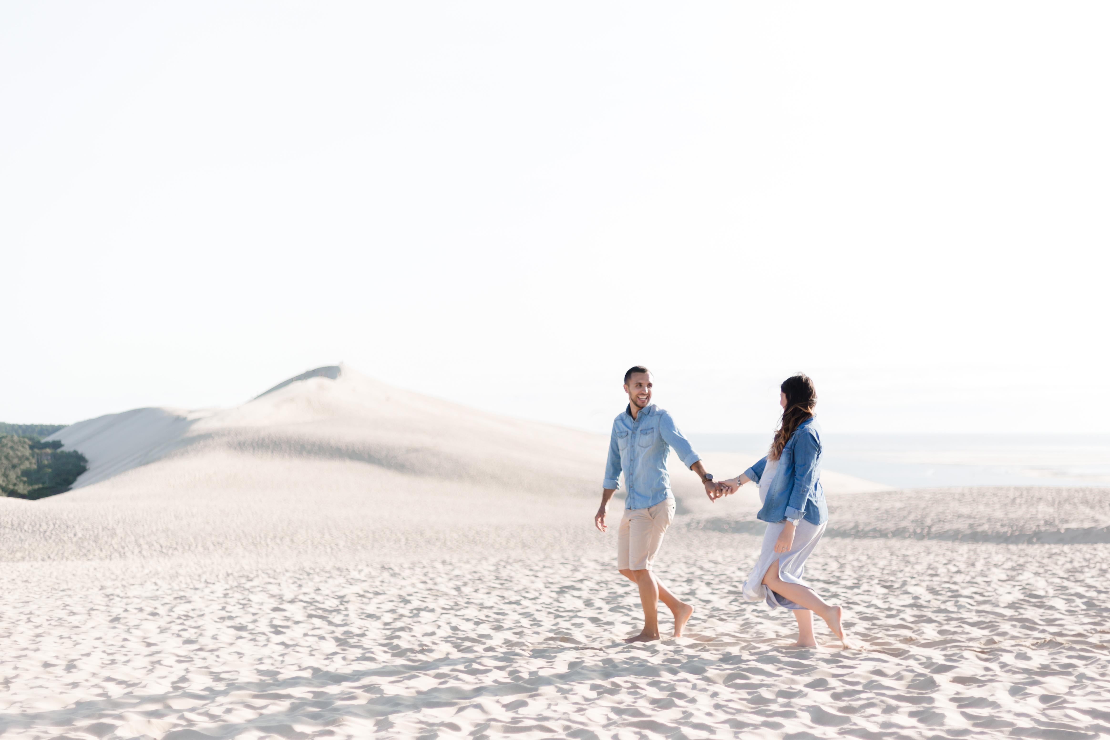 Séance maternité dune du pilat